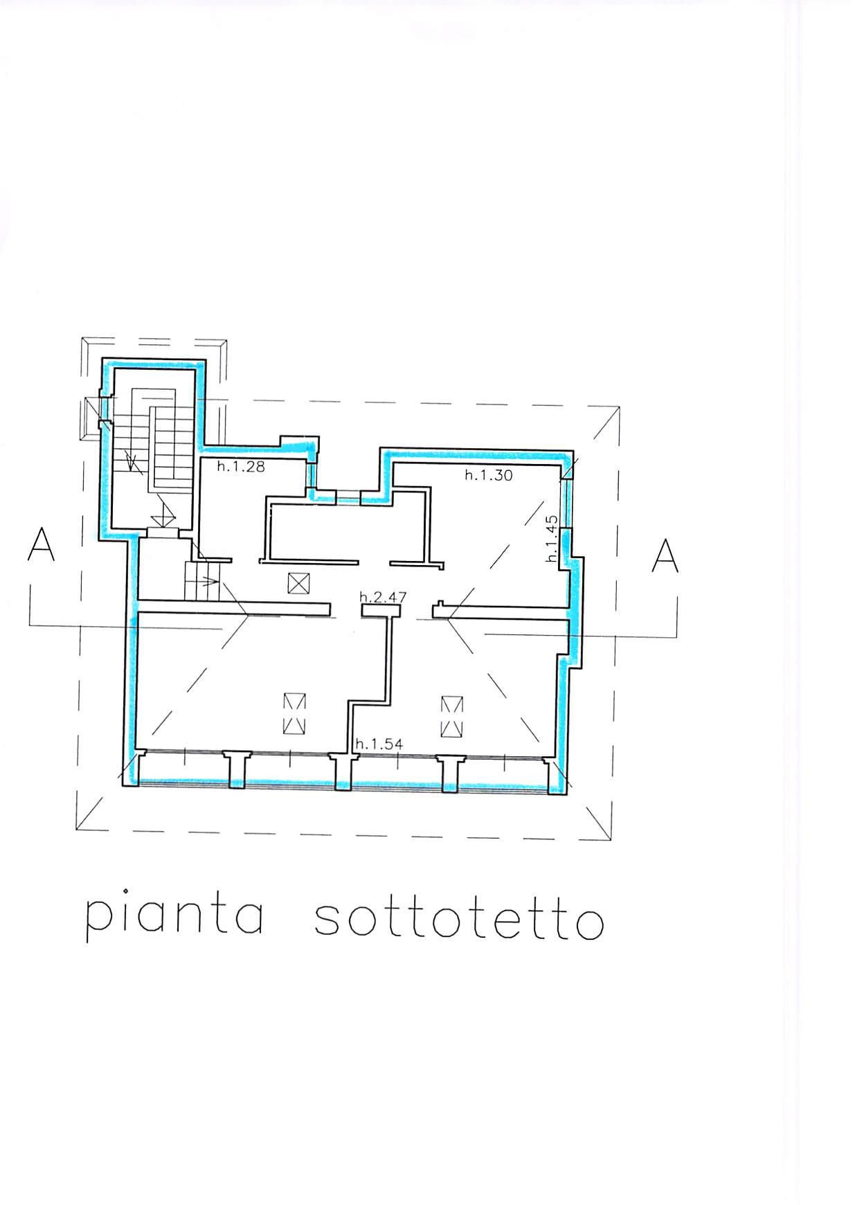 Planimetria 4/5 per rif. B231