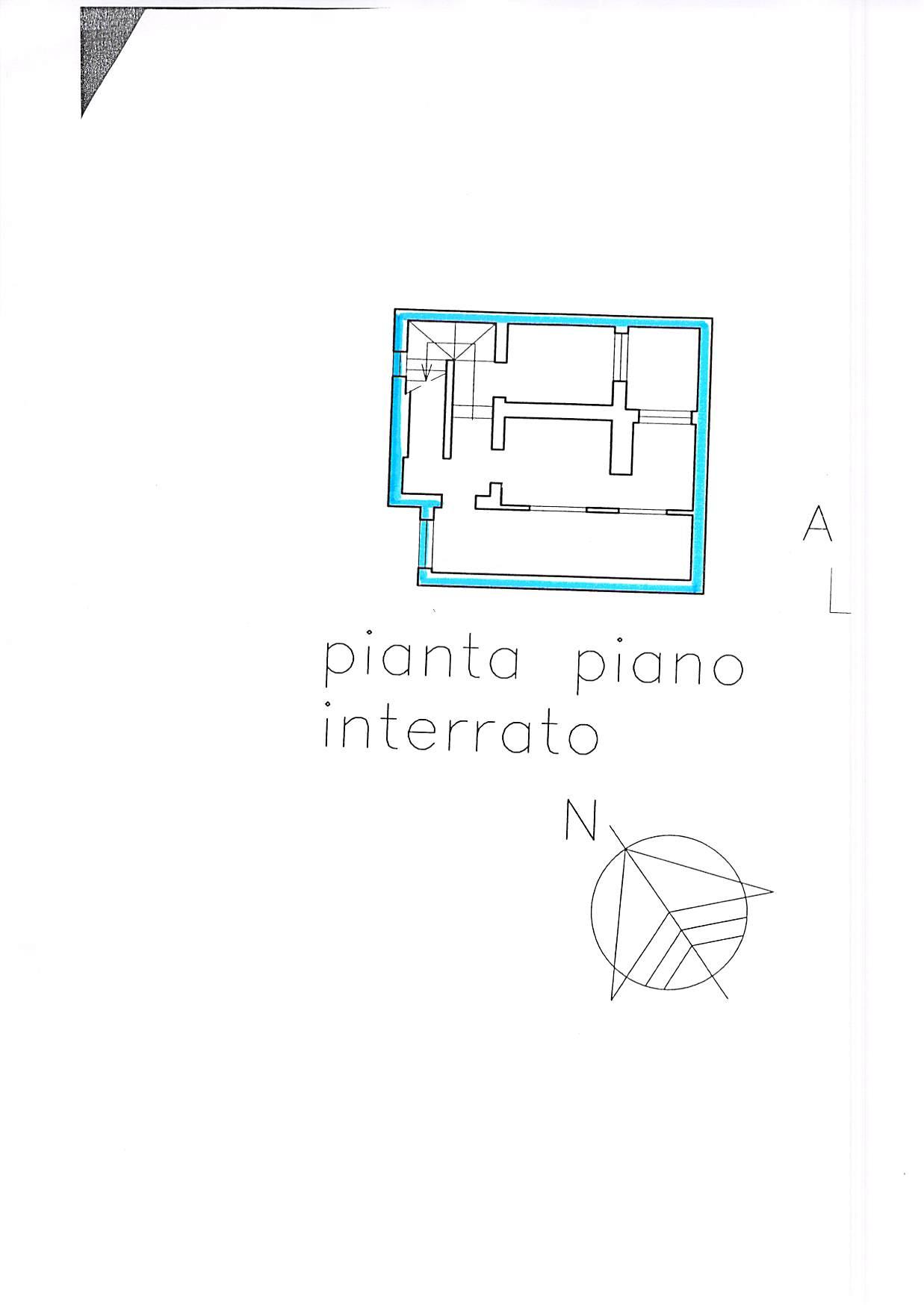 Planimetria 5/5 per rif. B231