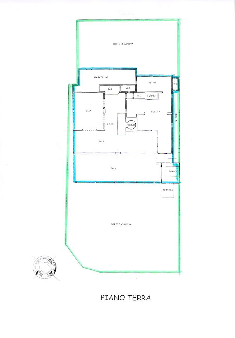 Planimetria 1/1 per rif. D19