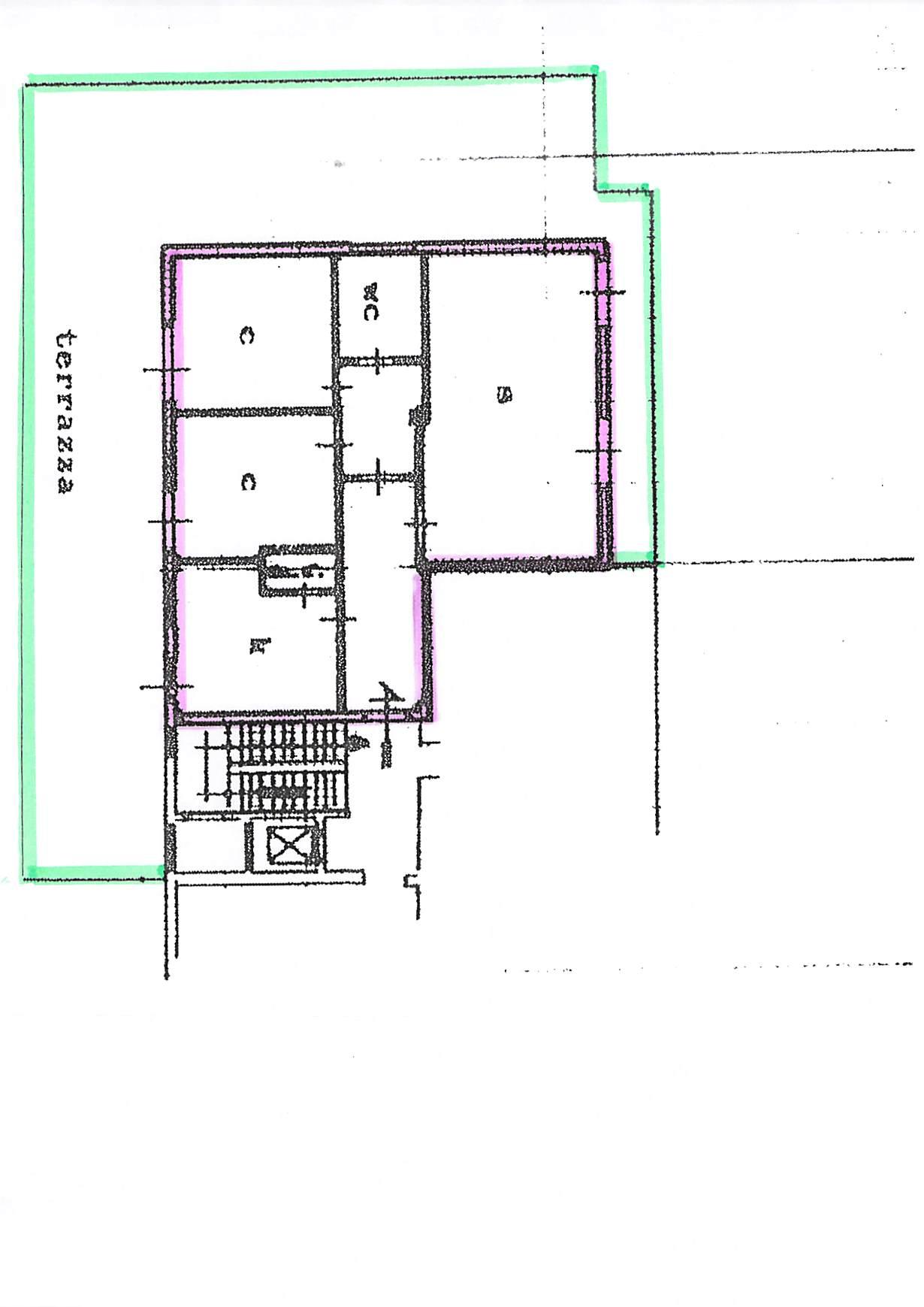 Planimetria 1/2 per rif. b238