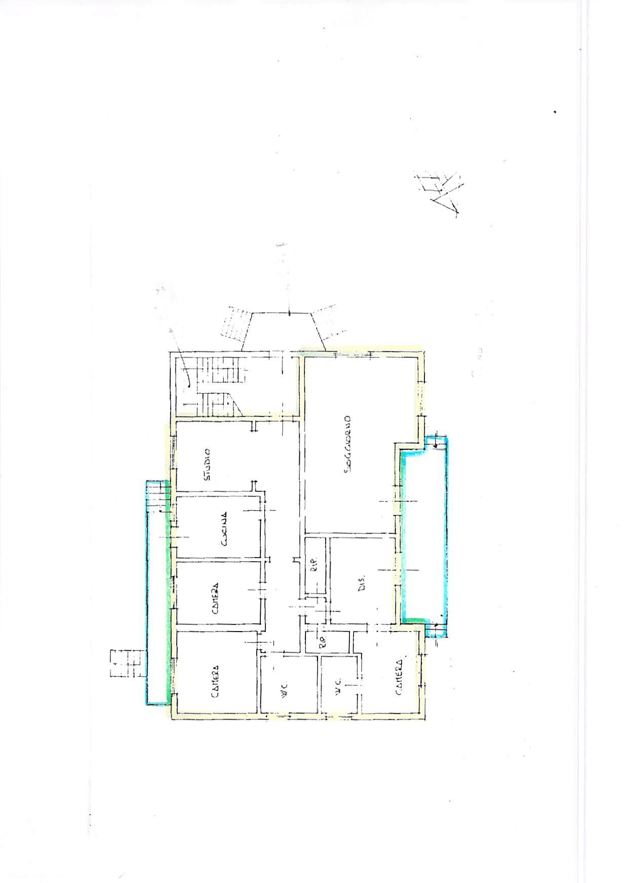 Planimetria 1/1 per rif. A183