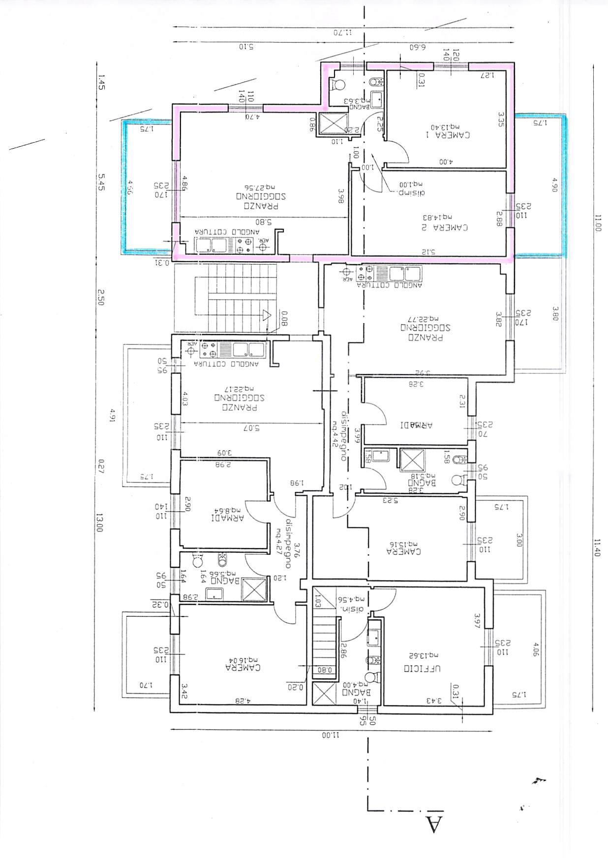 Planimetria 1/1 per rif. A195