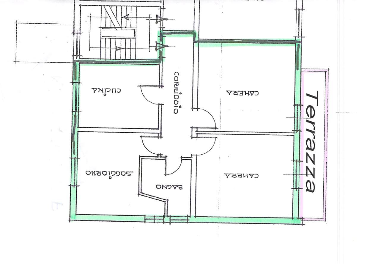 Planimetria 1/1 per rif. B247