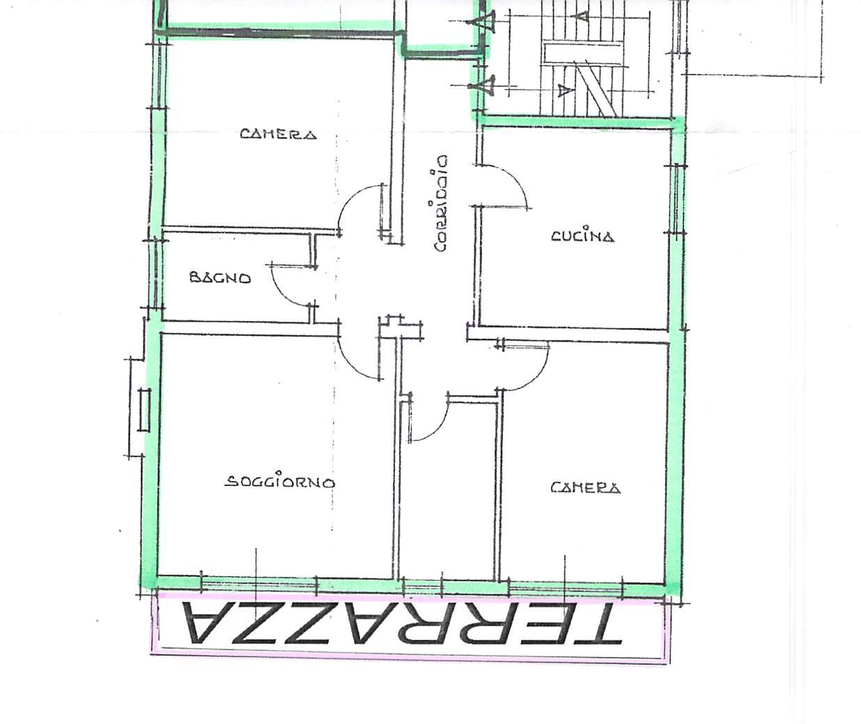 Planimetria 1/1 per rif. B246