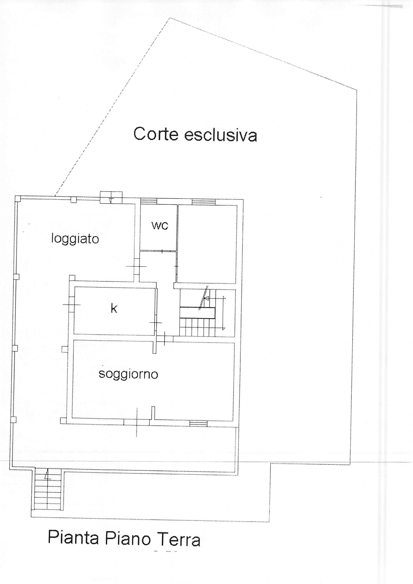 Planimetria 2/2 per rif. A204