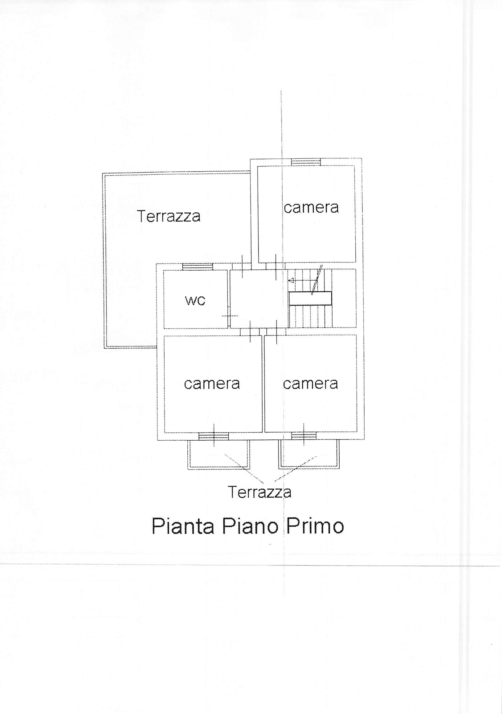 Planimetria 1/2 per rif. A204