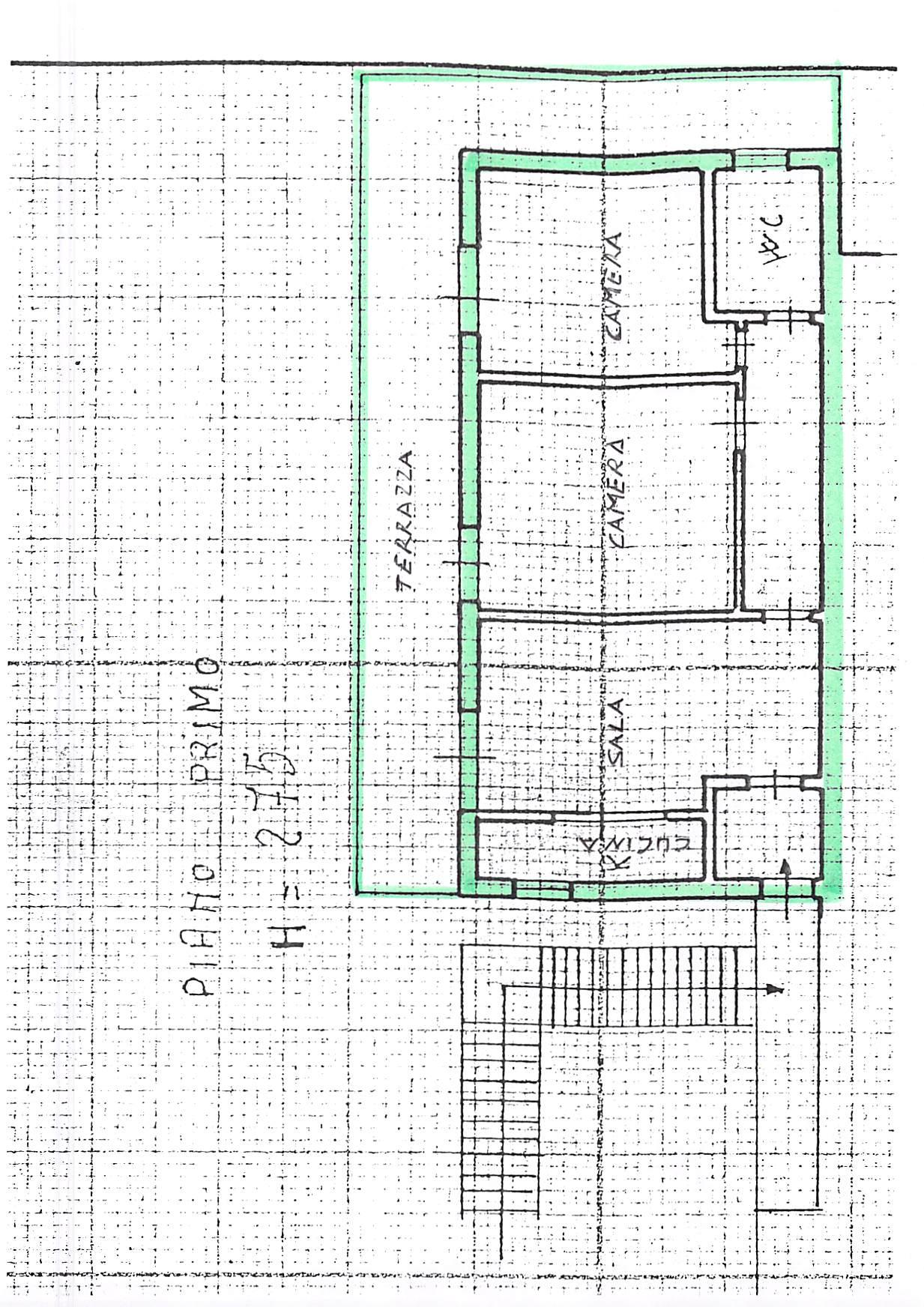 Planimetria 1/1 per rif. B257