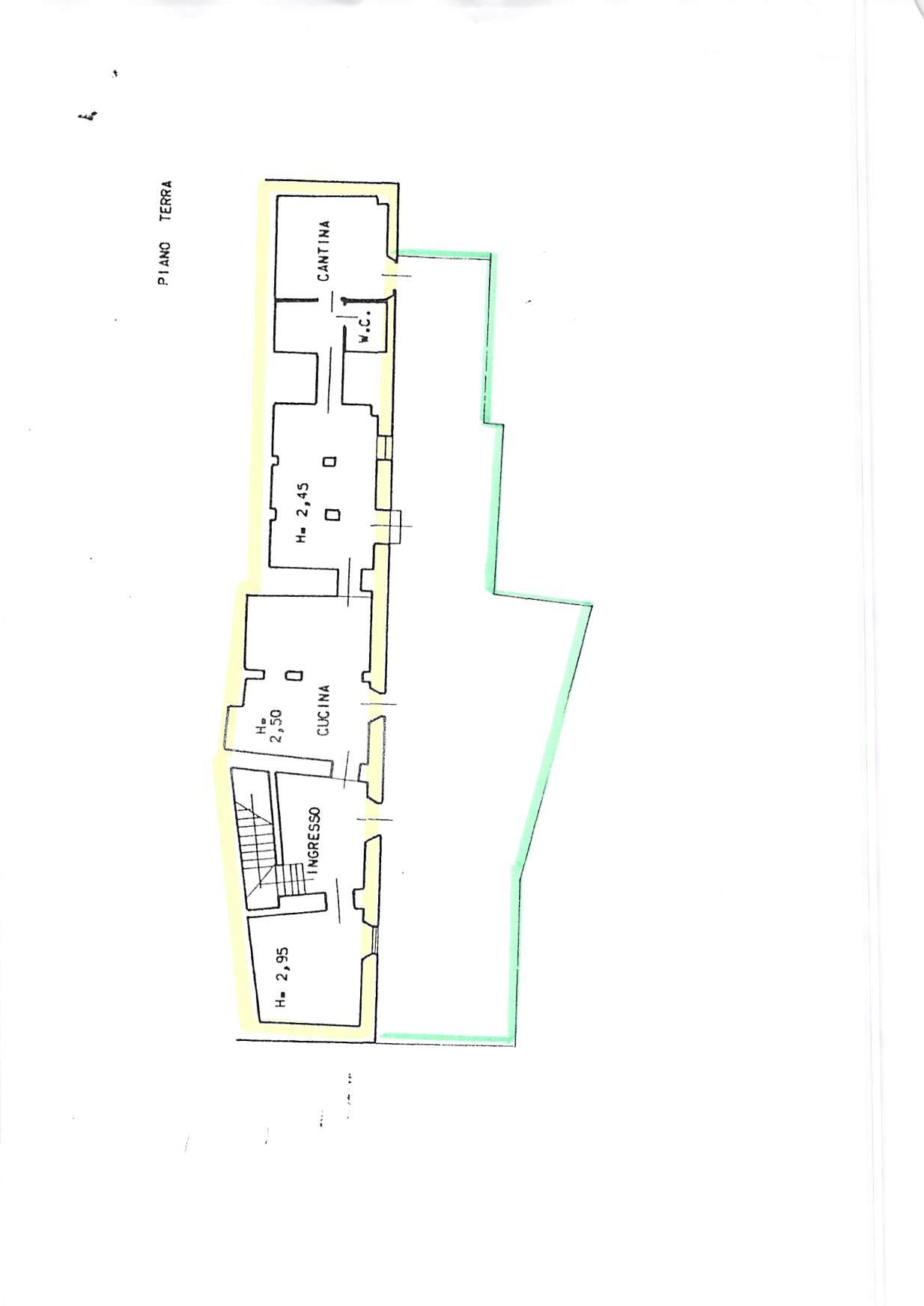Planimetria 1/2 per rif. A232