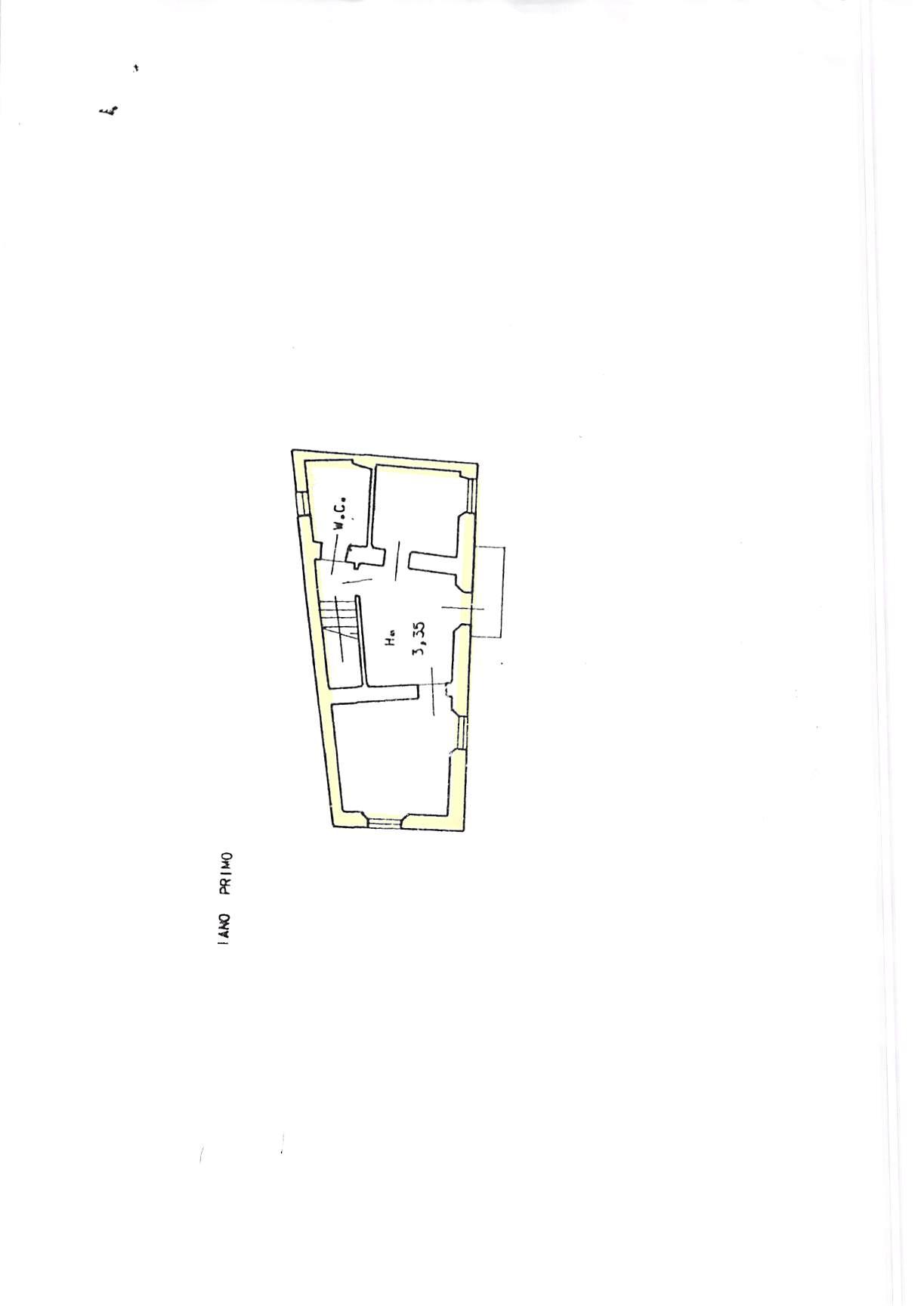 Planimetria 2/2 per rif. A232