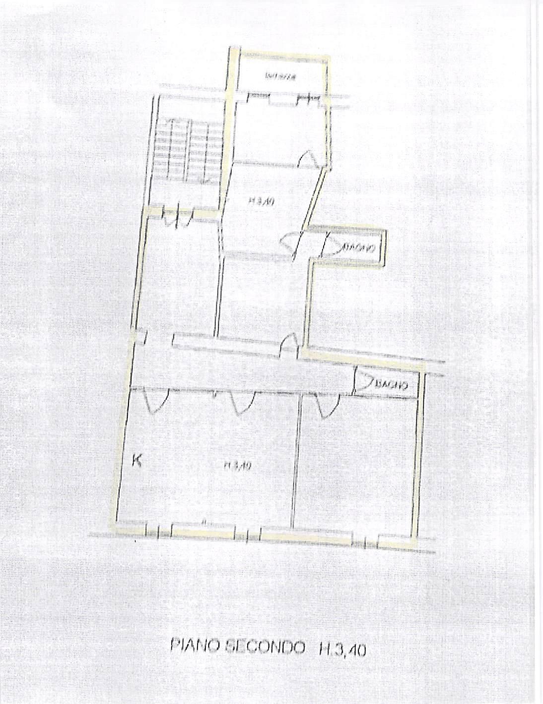 Planimetria 1/1 per rif. A234