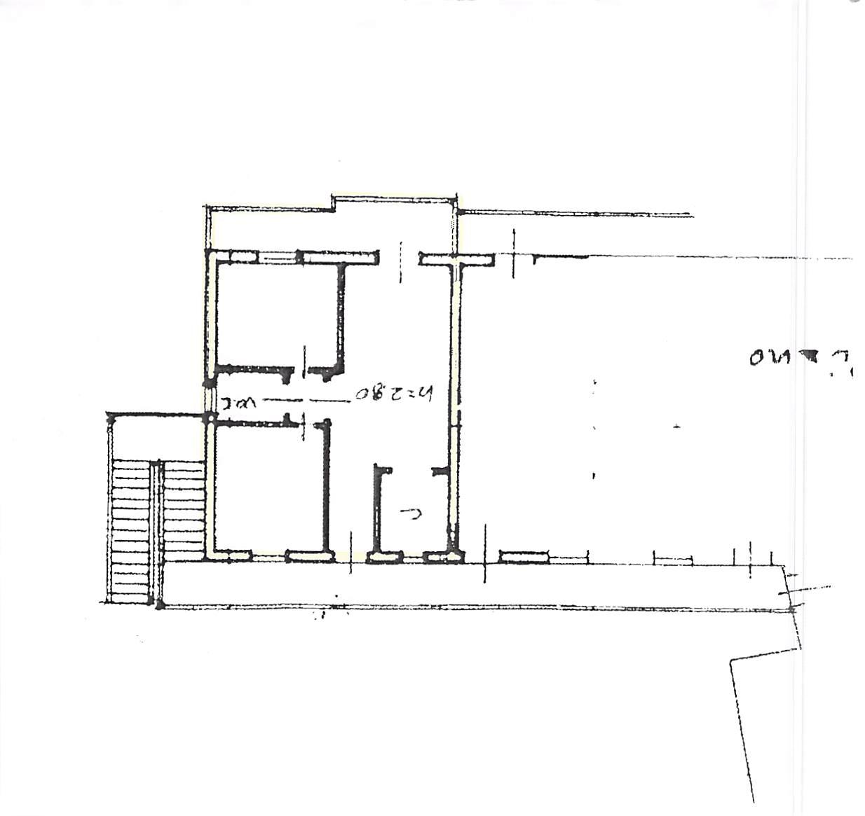 Planimetria 1/1 per rif. B296