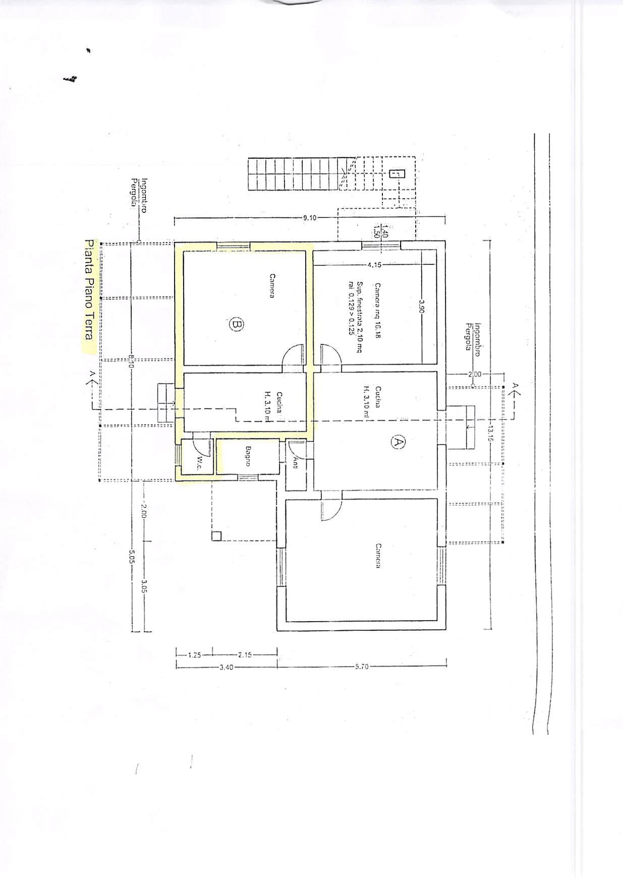 Planimetria 1/1 per rif. B302