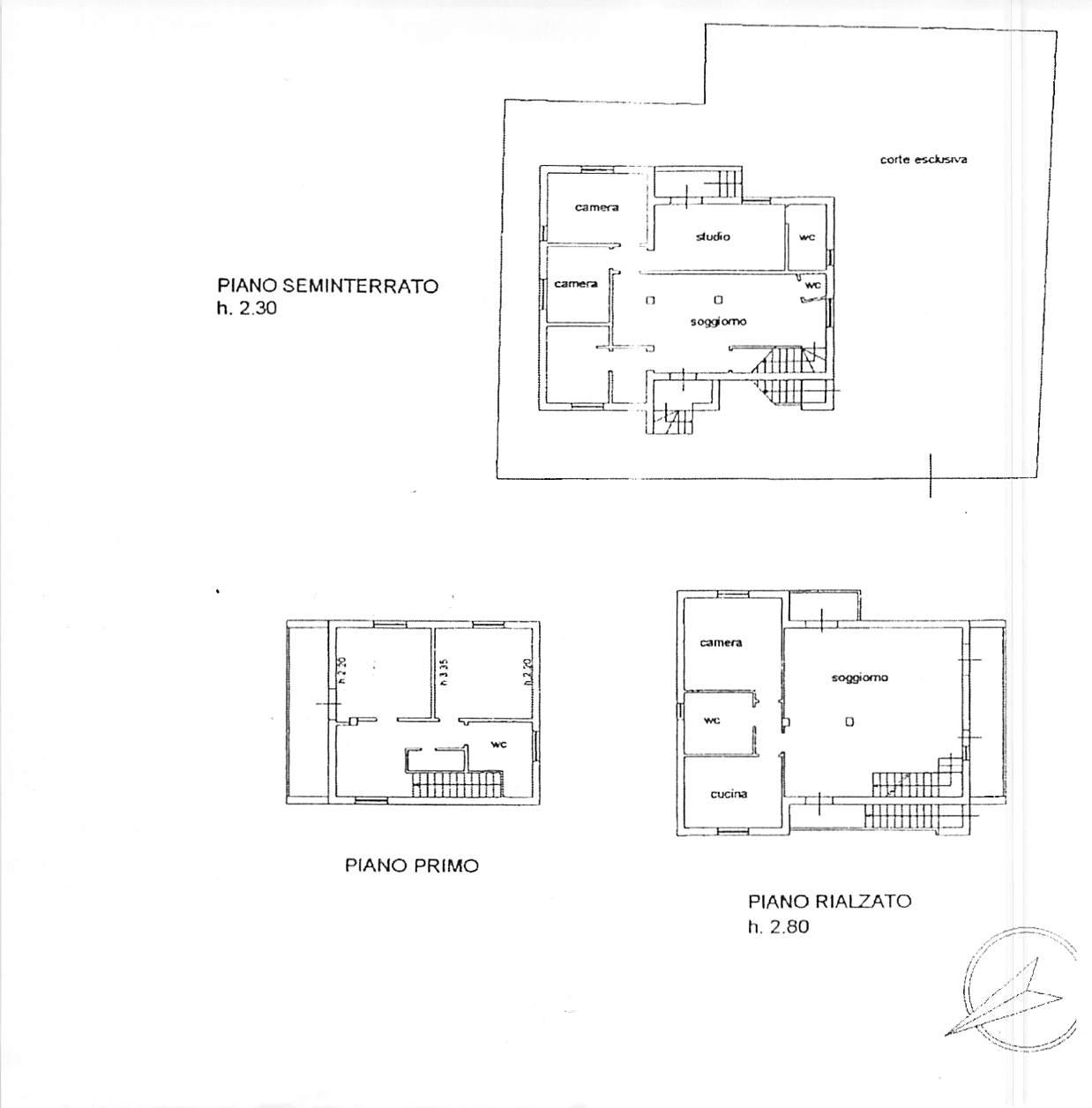Planimetria 1/1 per rif. B305
