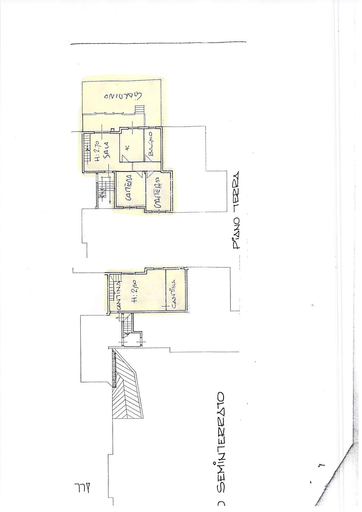 Planimetria 1/1 per rif. A241
