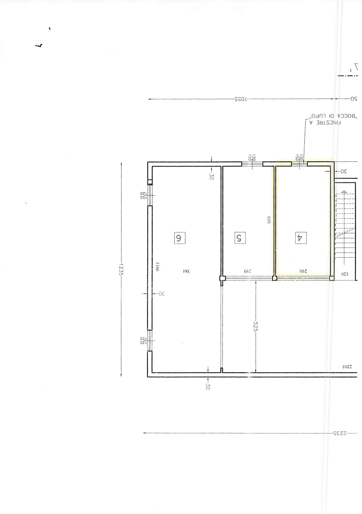 Planimetria 3/3 per rif. A242