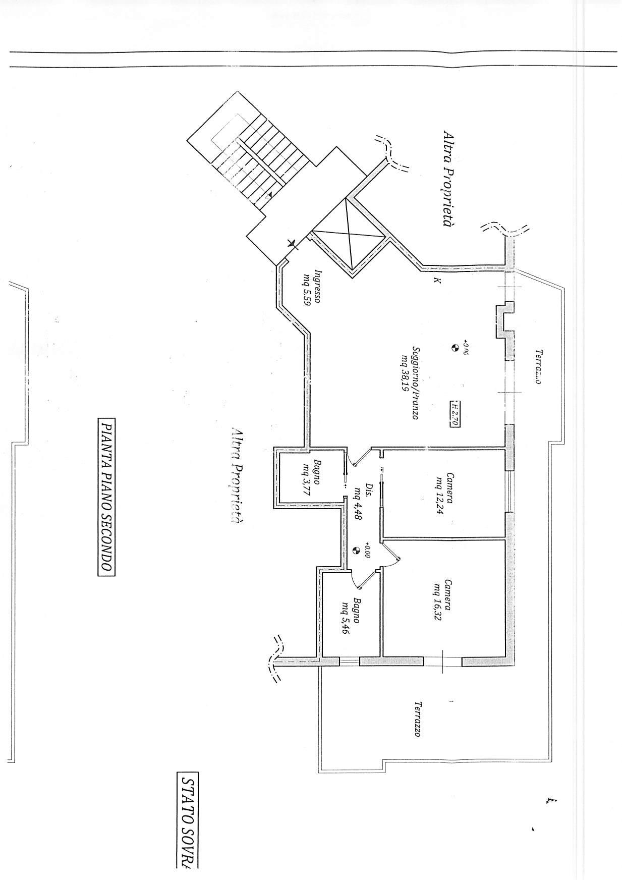 Planimetria 1/1 per rif. A246