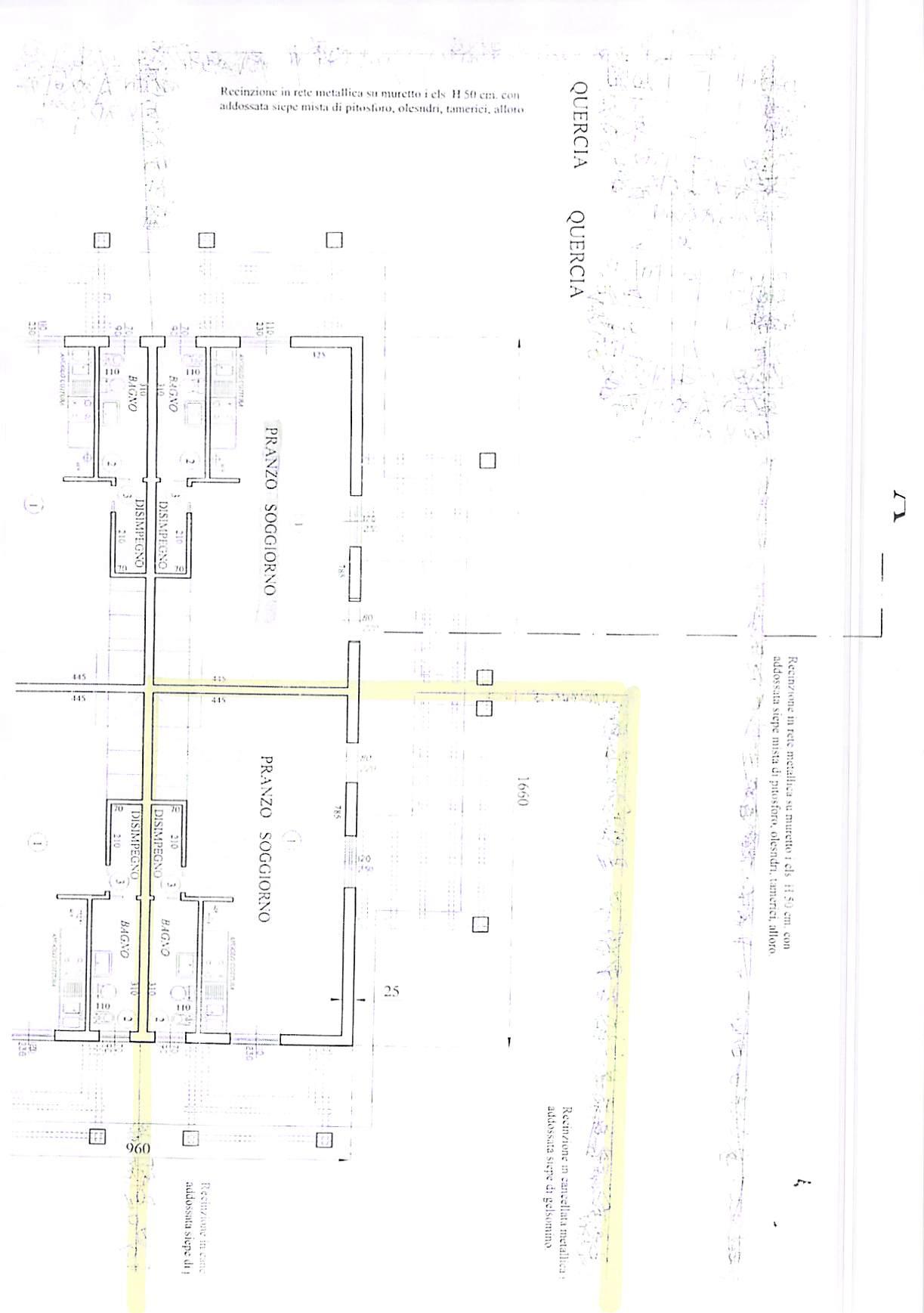 Planimetria 1/3 per rif. B314