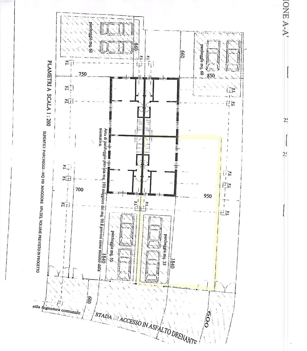 Planimetria 3/3 per rif. B314