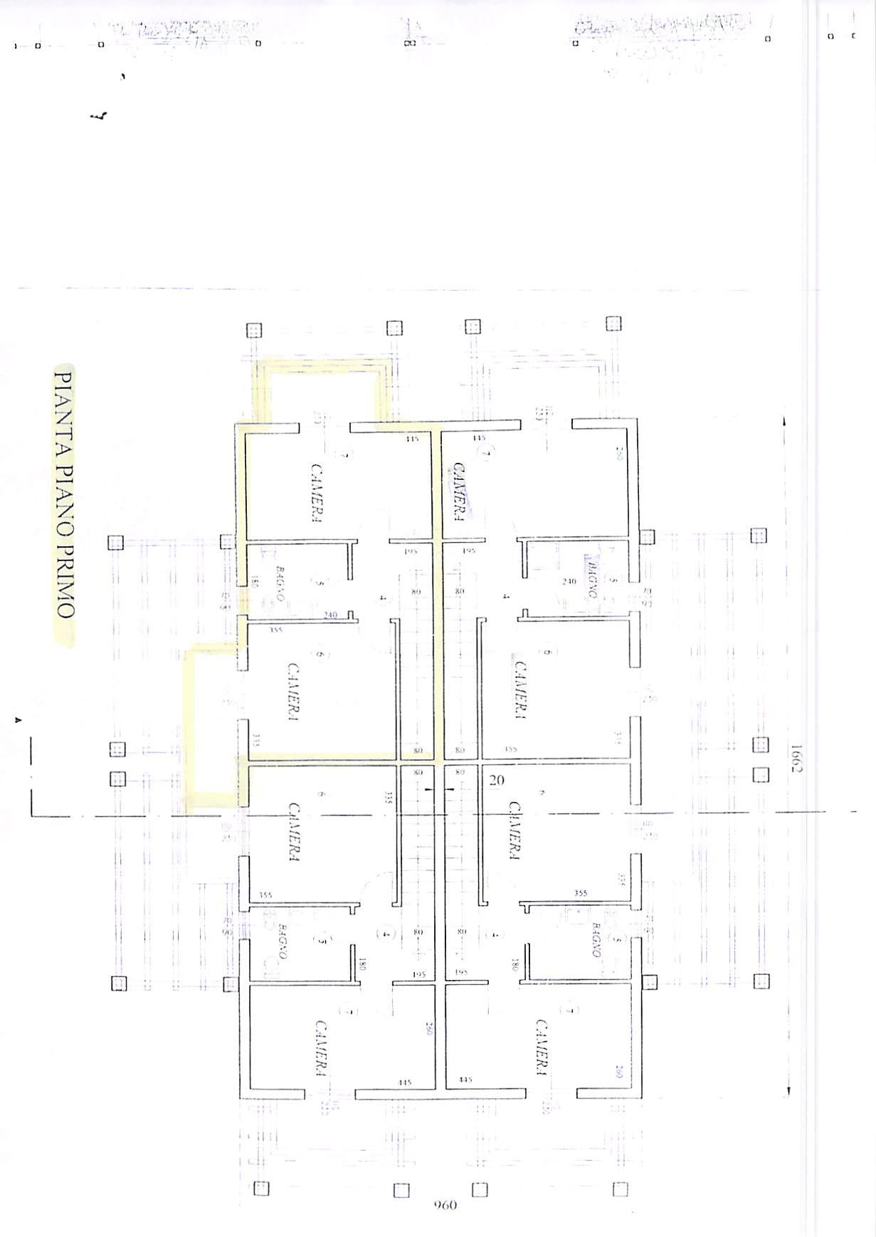 Planimetria 2/3 per rif. B314