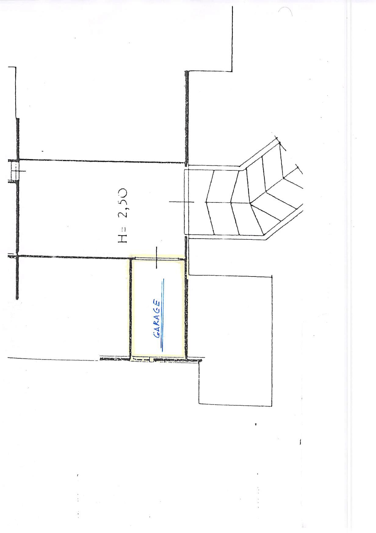 Planimetria 3/4 per rif. B315