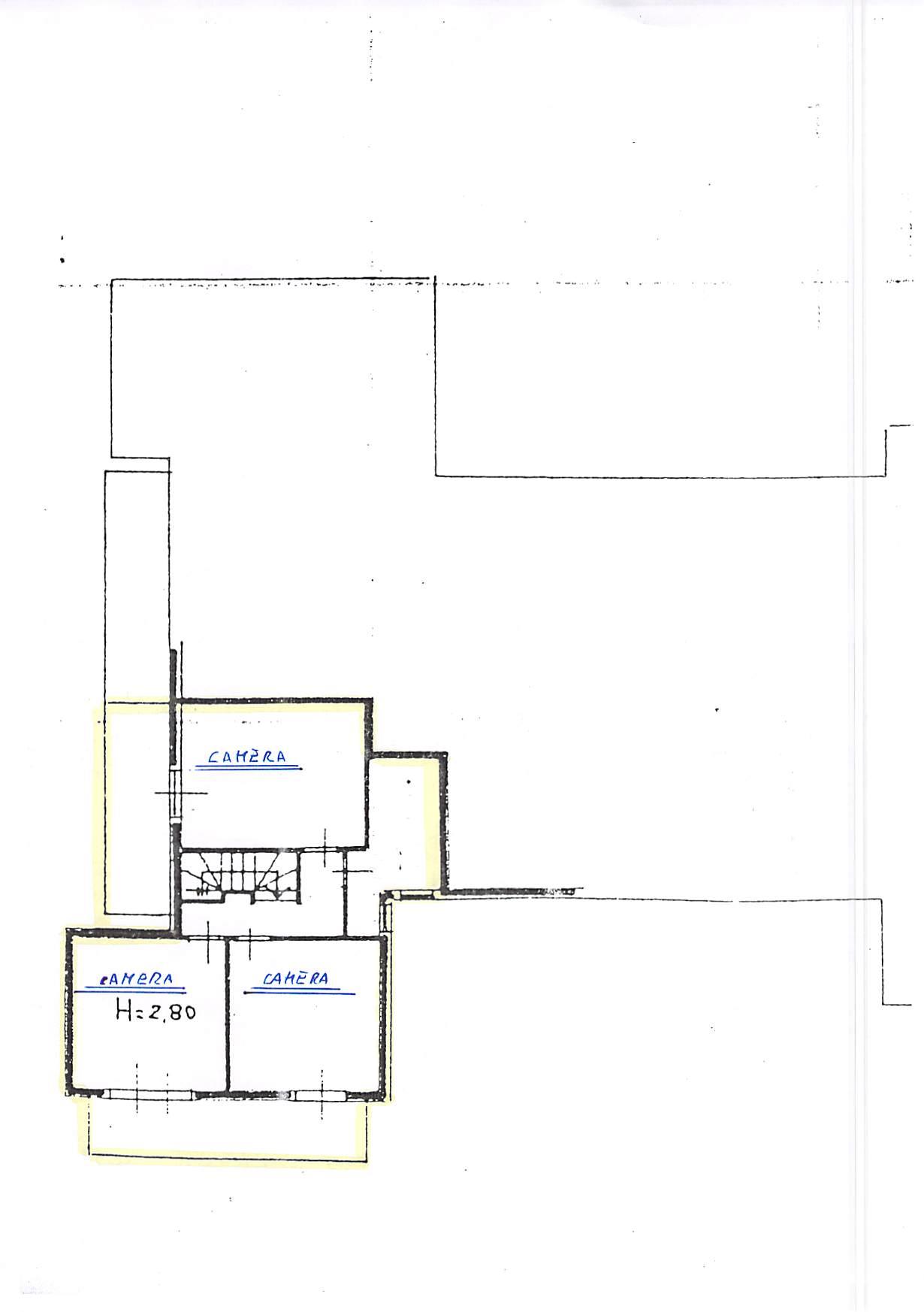 Planimetria 2/4 per rif. B315