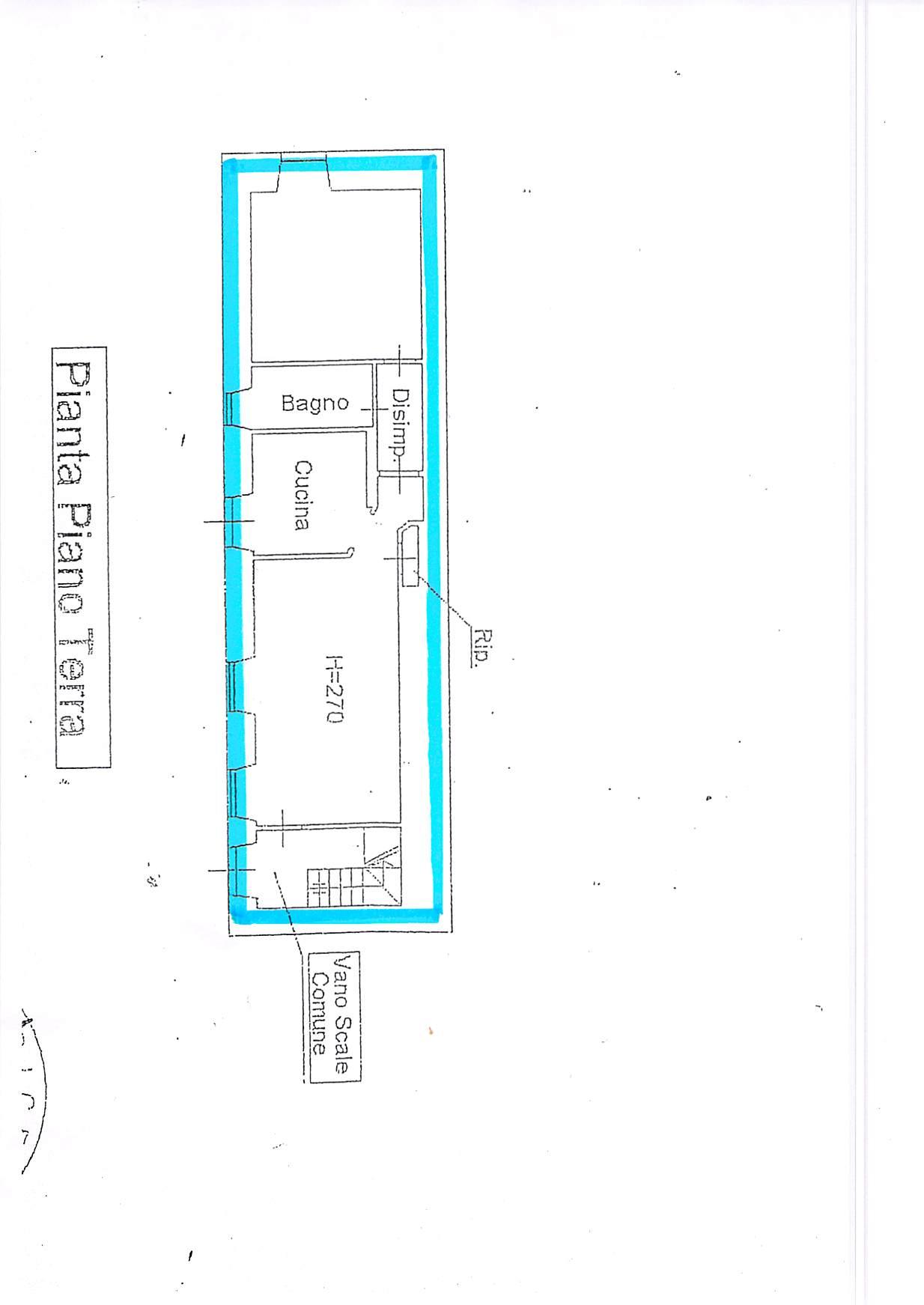Planimetria 1/1 per rif. A251