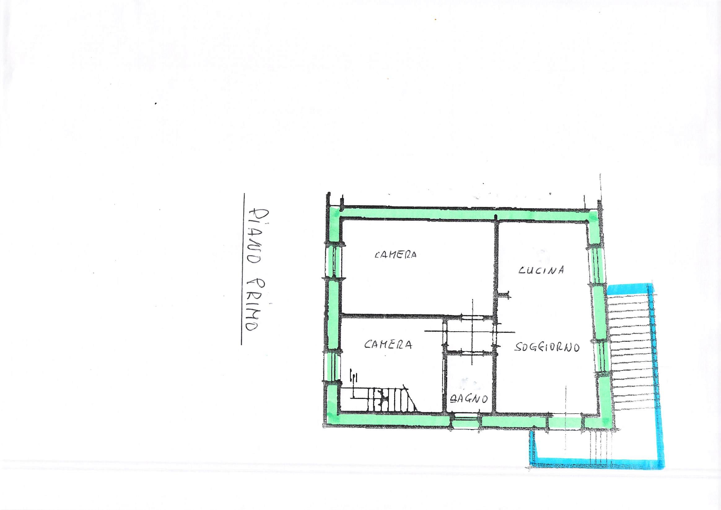 Planimetria 1/2 per rif. A257