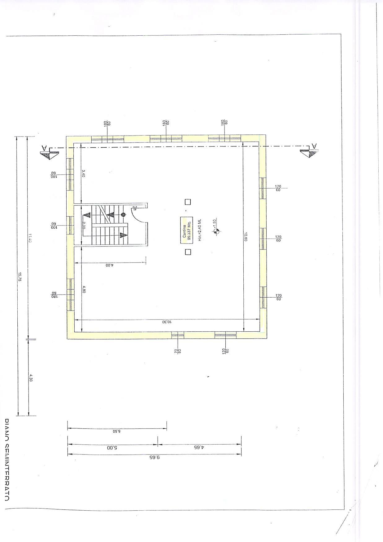 Planimetria 2/4 per rif. T407
