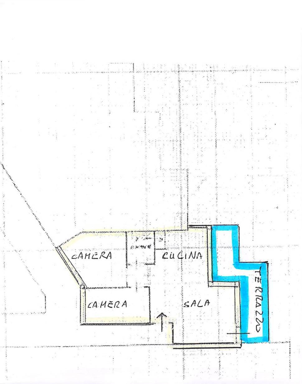 Planimetria 2/2 per rif. B318