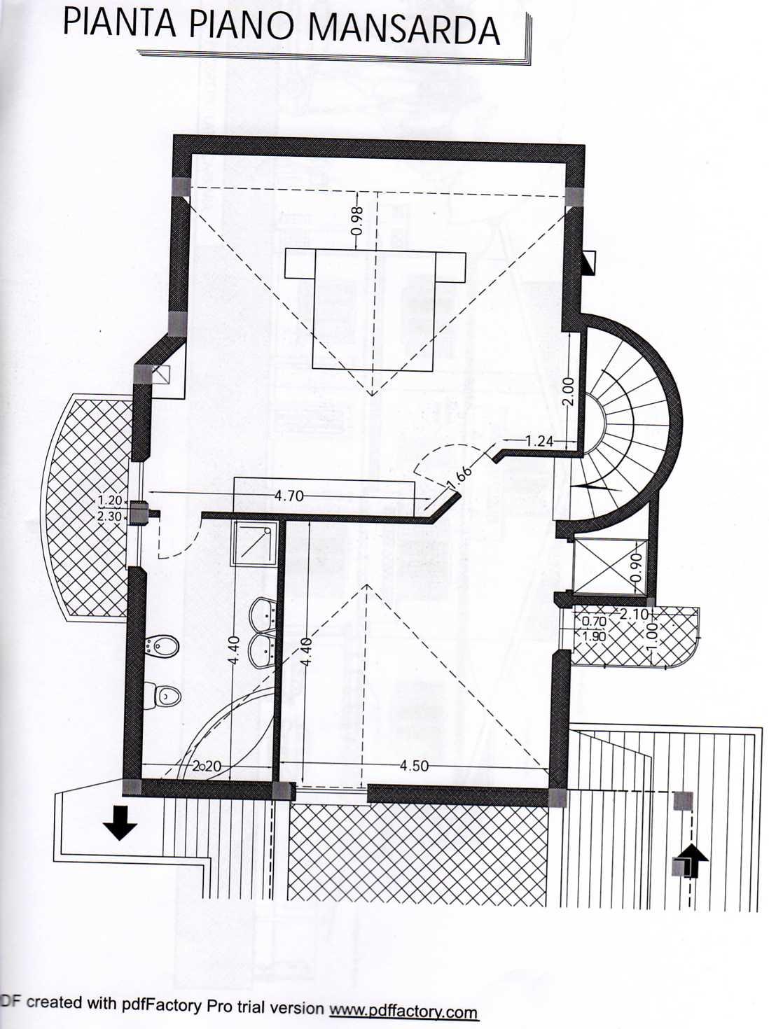 Planimetria 4/4 per rif. A258
