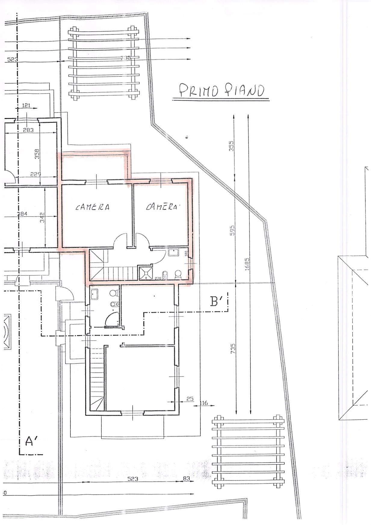 Planimetria 2/2 per rif. B319