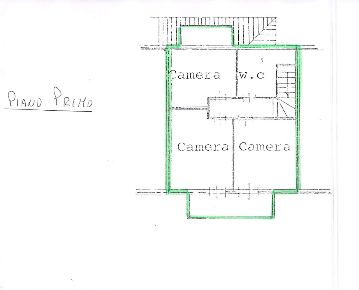 Planimetria 1/2 per rif. A262