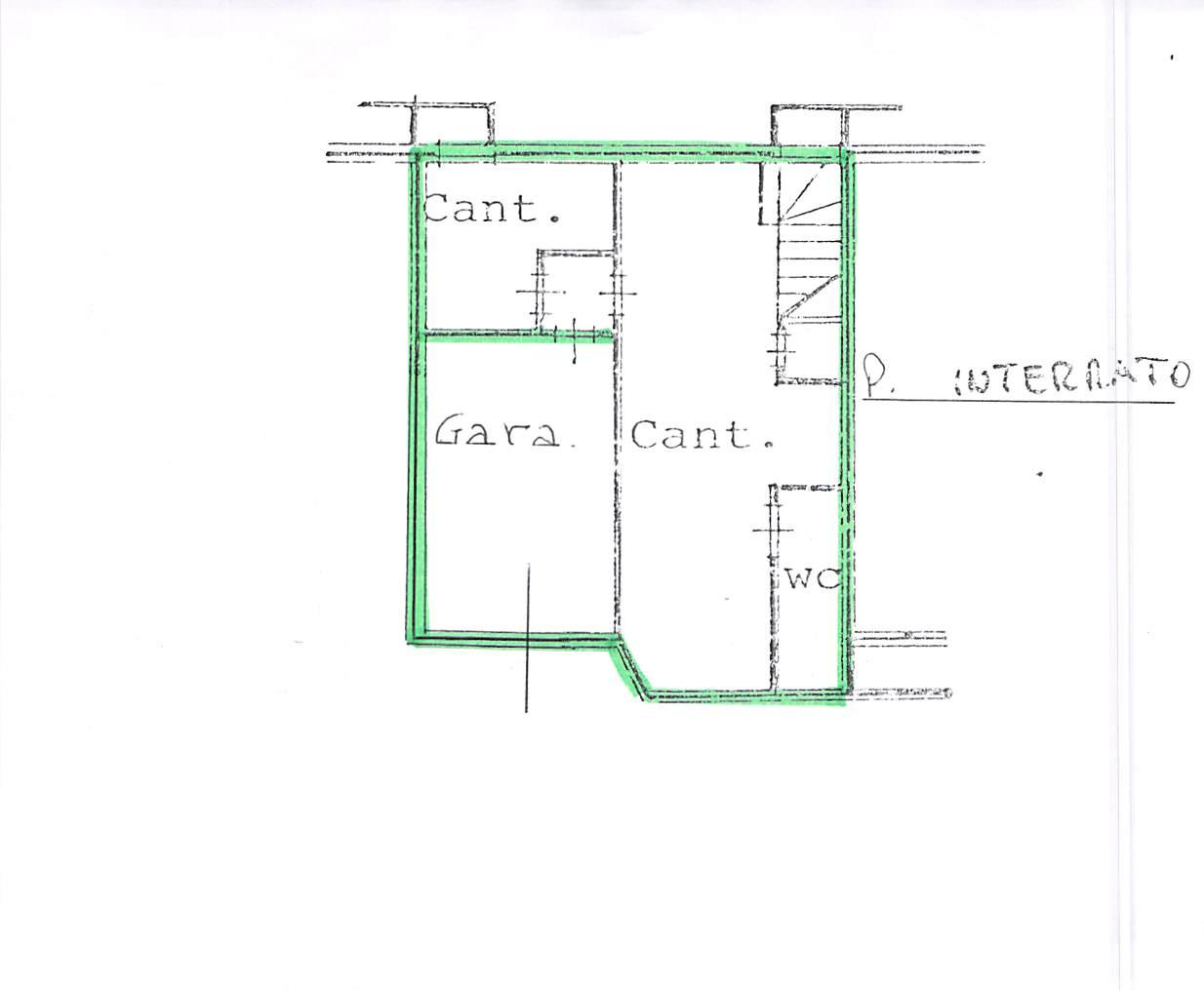 Planimetria 2/2 per rif. A262