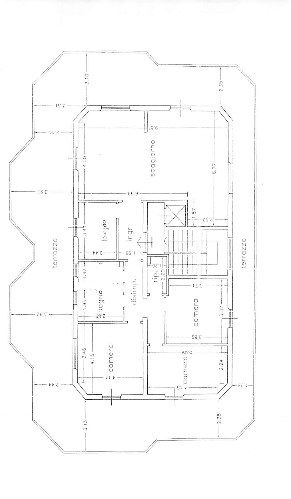 Planimetria 1/1 per rif. B321