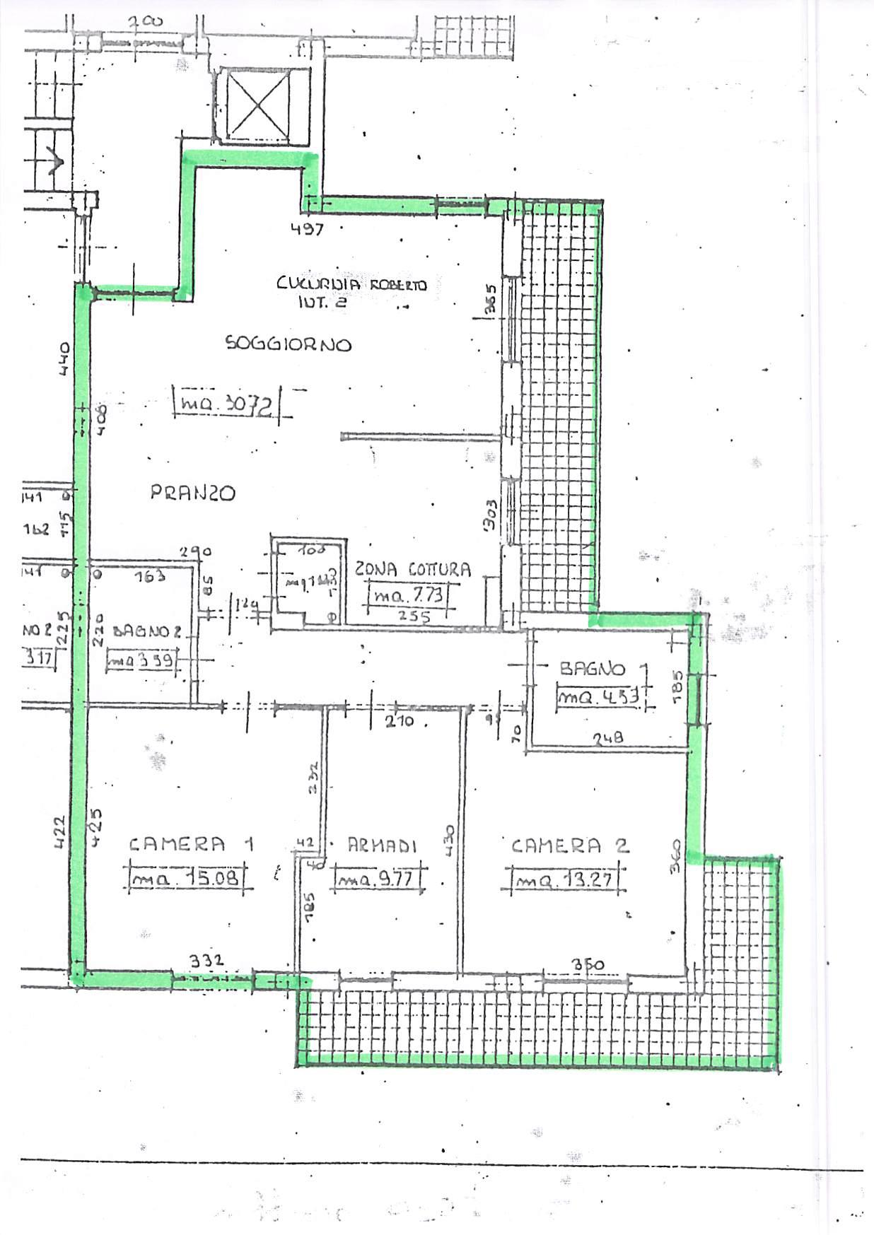 Planimetria 1/1 per rif. A266