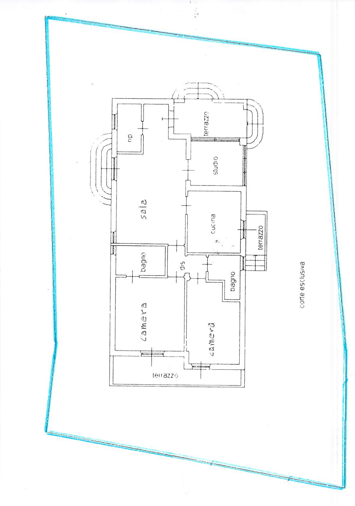 Planimetria 1/1 per rif. B325