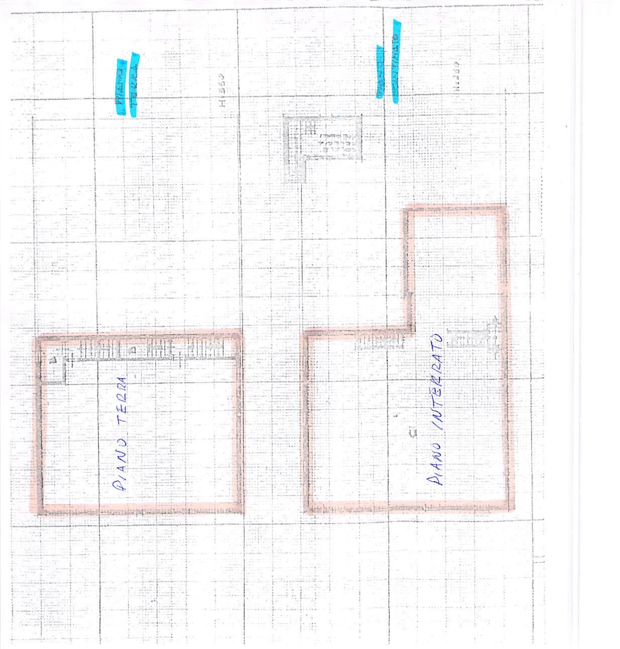 Planimetria 1/1 per rif. E40