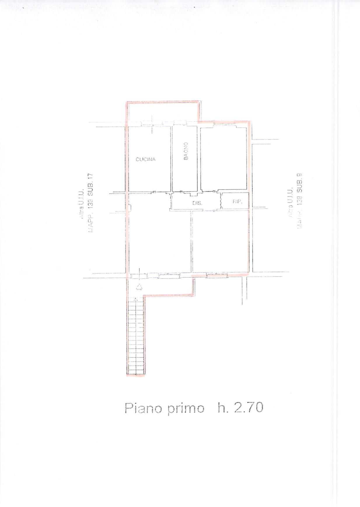 Planimetria 1/1 per rif. B328
