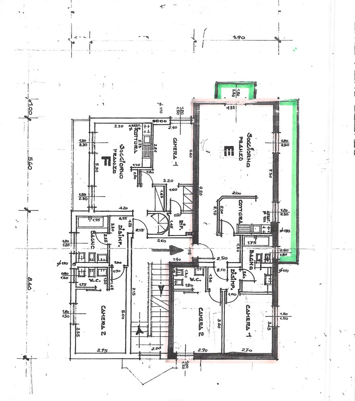 Planimetria 1/1 per rif. B339