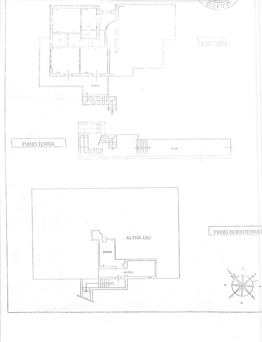 Planimetria 1/3 per rif. A269