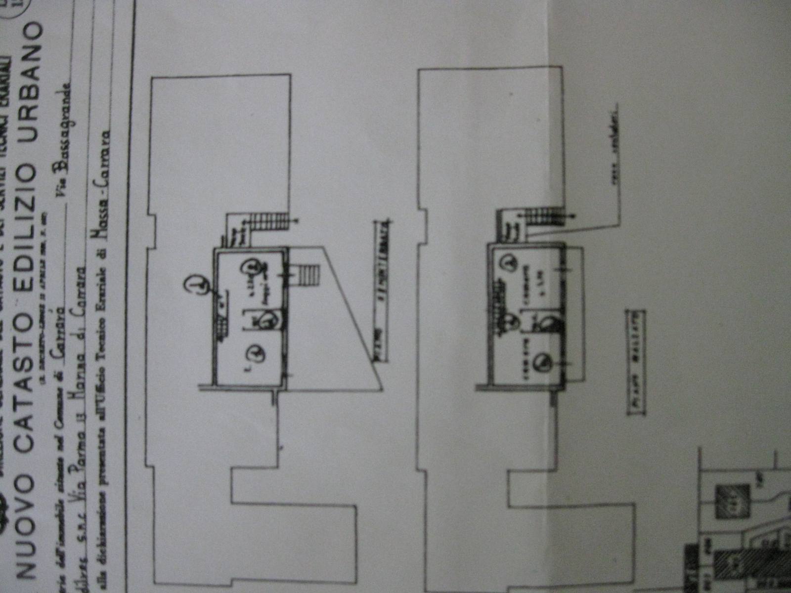 Planimetria 1/1 per rif. MDC2/08