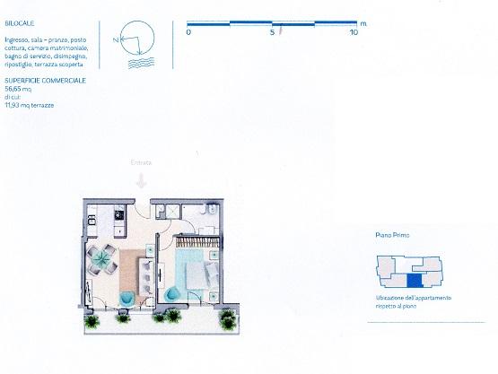 Planimetria 3/12 per rif. VG92