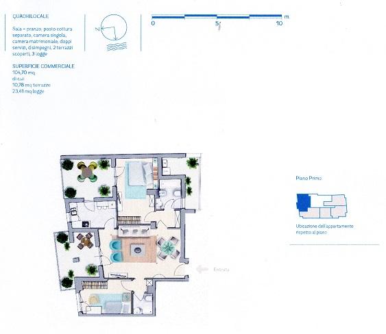 Planimetria 1/12 per rif. VG92