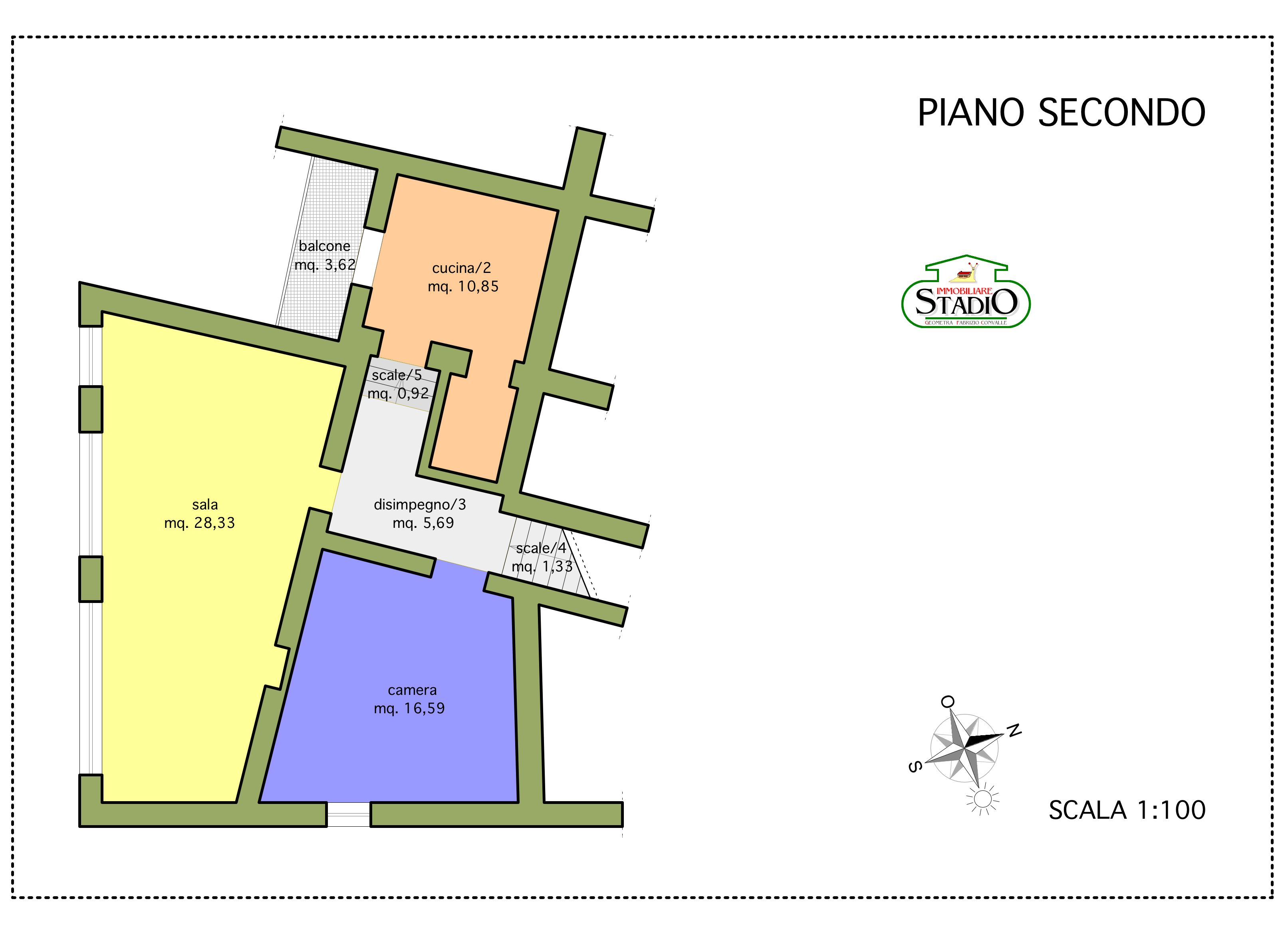 Planimetria 2/3 per rif. C007