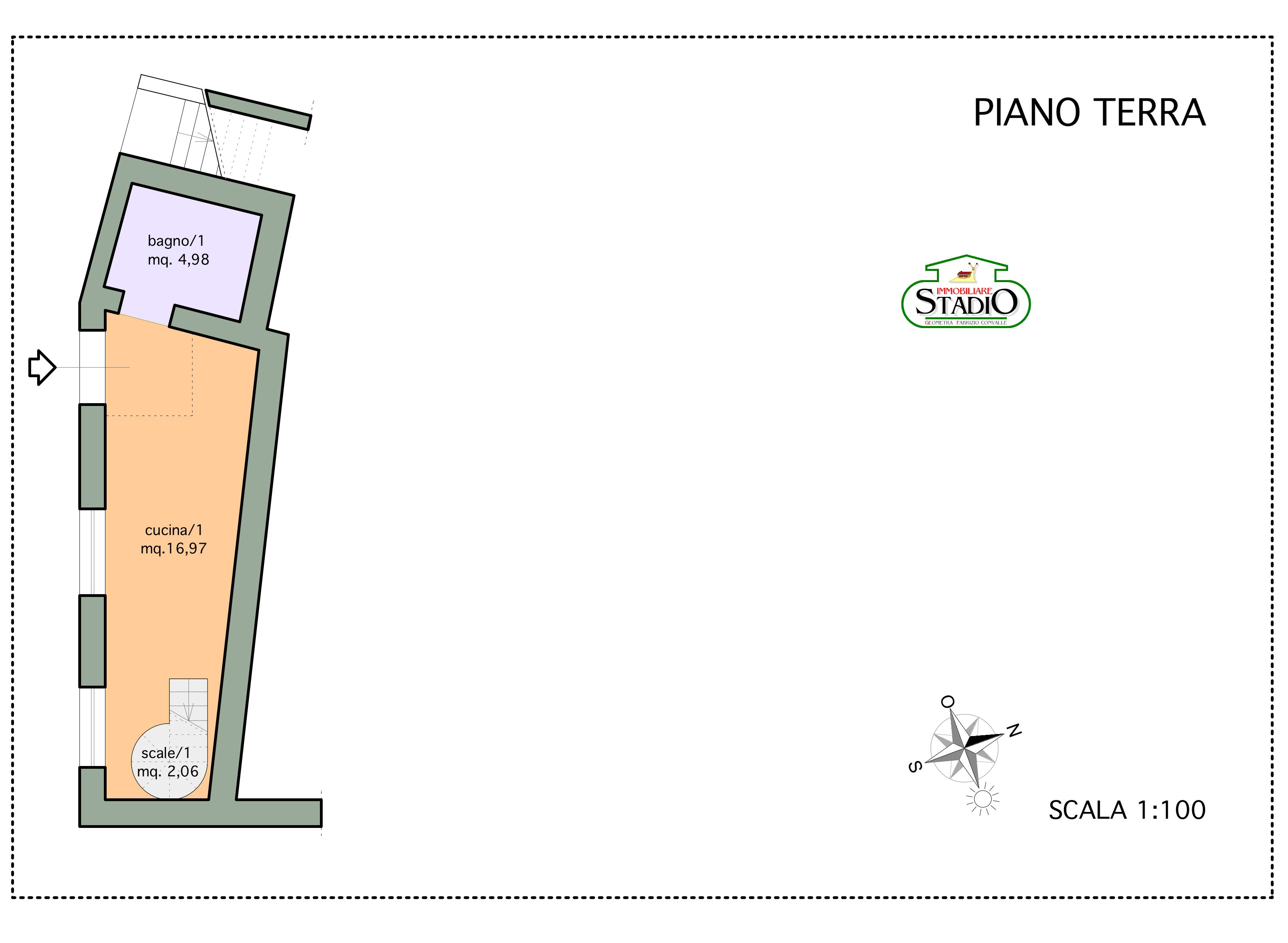 Planimetria 3/3 per rif. C007