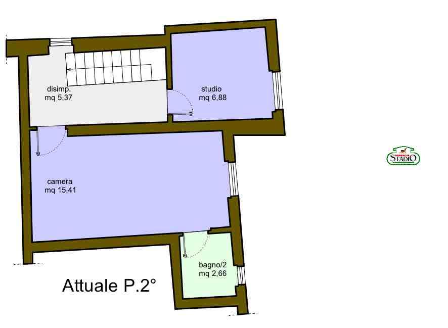 Planimetria 2/3 per rif. C033