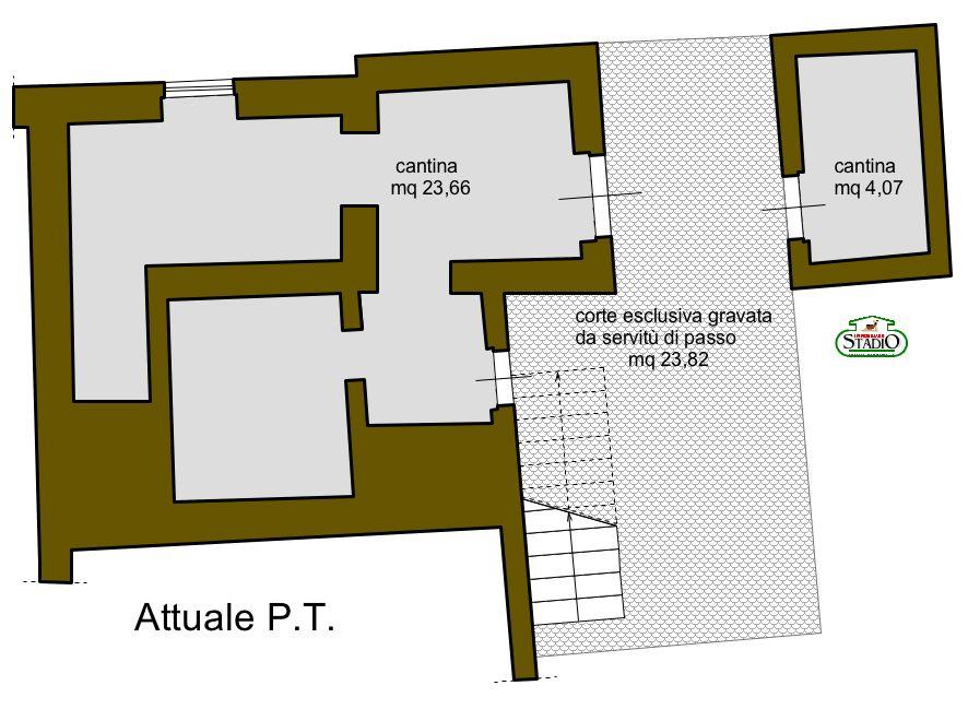 Planimetria 3/3 per rif. C033