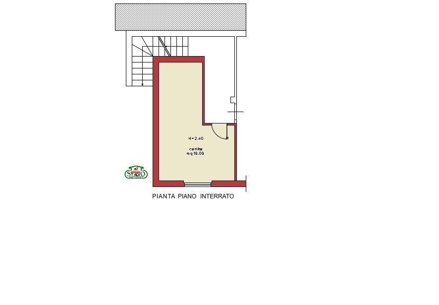 Planimetria 2/2 per rif. A042