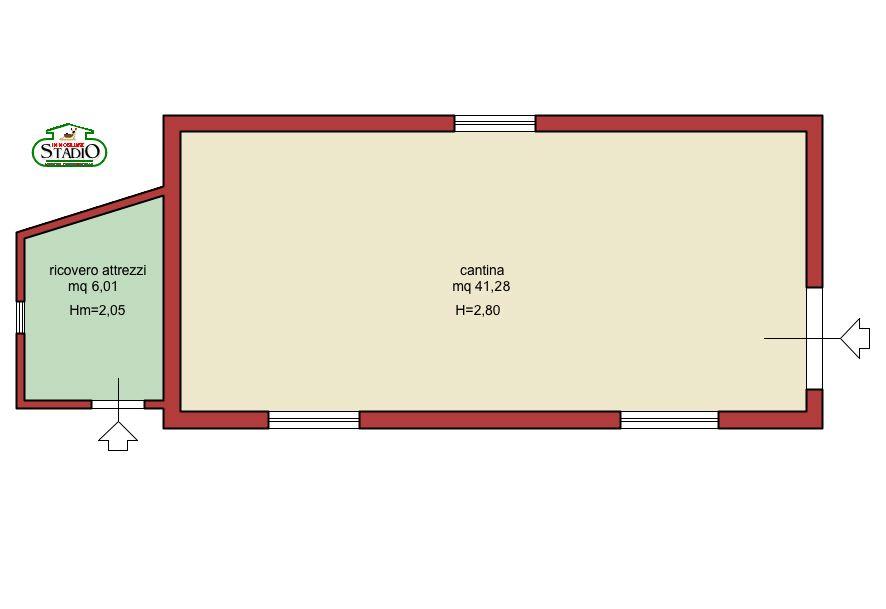 Planimetria 3/3 per rif. C006
