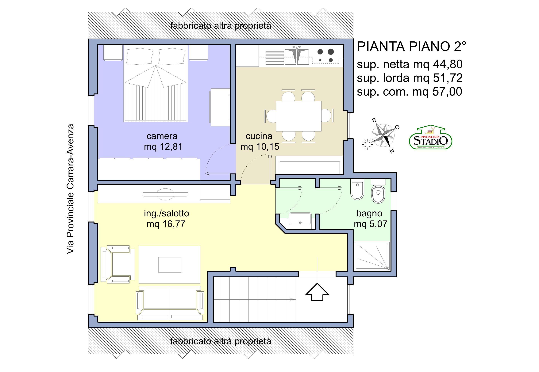 Planimetria 1/1 per rif. A186